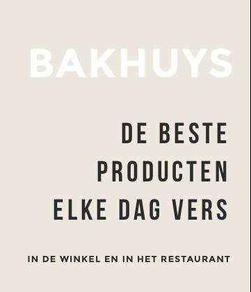 Bakhuys producten
